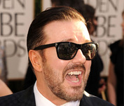 Celebs React to Ricky Gervais' Golden Globe Barbs