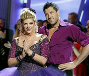 Kirstie and Maks Kiss and Make Up on 'DWTS'