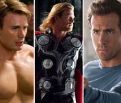 Vote! Who is This Summer's Hottest Superhero?