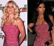 Vote! Britney and Kim K: Who Wore It Better?