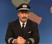Alec Baldwin Takes Shot at American Airlines on 'SNL'