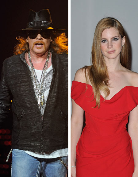 Is Axl Rose Dating Lana Del Rey?