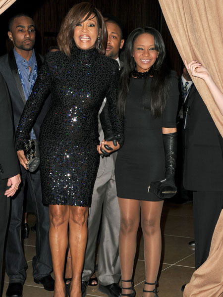 Bobbi Kristina Wants to Play Whitney Houston in Biopic