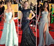 Vote! Who is the Best-Dressed Starlet at the SAG Awards?