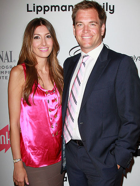 Michael Weatherly is a New Dad
