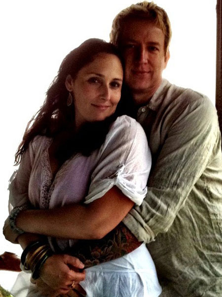 Ricki Lake and Christian Evans Elope