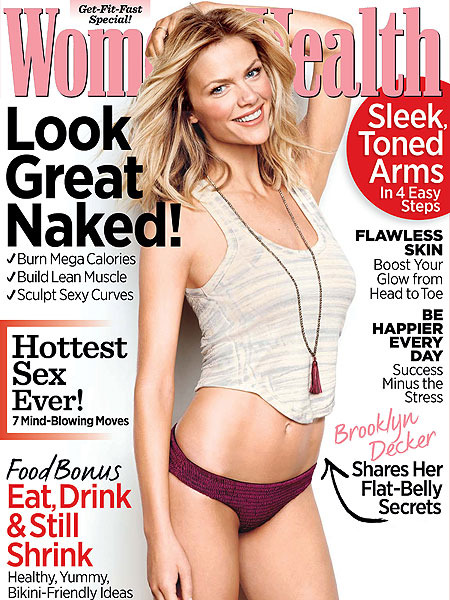 'Battleship' Beauty Brooklyn Decker's Secrets to a Flat Belly
