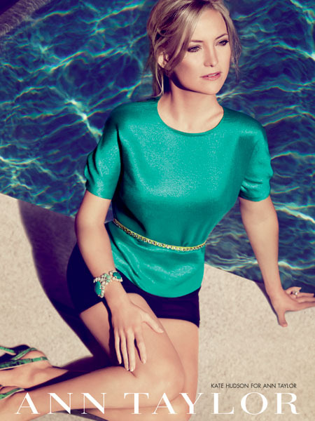 Video! Kate Hudson's Ann Taylor Photo Shoot