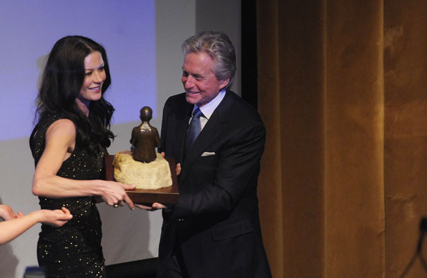The Best Present Catherine Zeta-Jones Ever Gave Micha