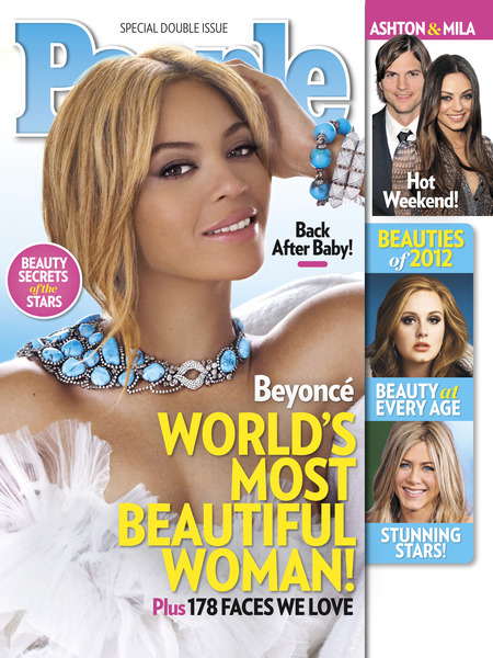 People Mag Names Beyonce 'World's Most Beautiful Woman'