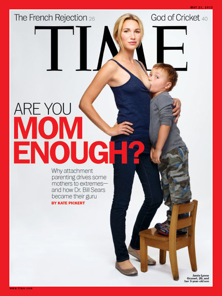 Who is Time's Breast-Feeding Mom?