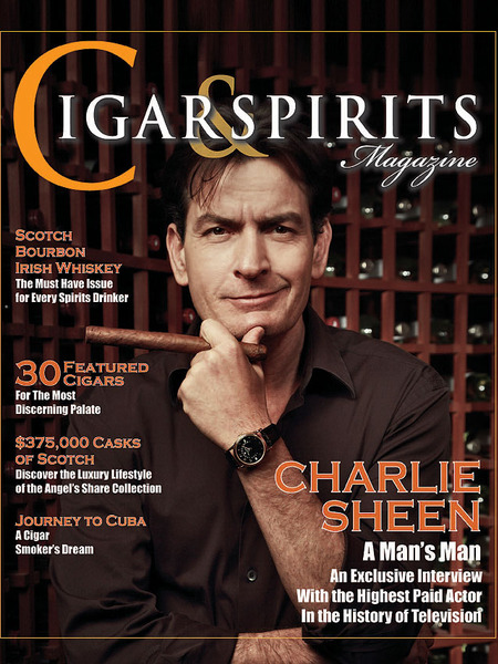 Charlie Sheen's 57-Year-Old Love? Macallan Whiskey