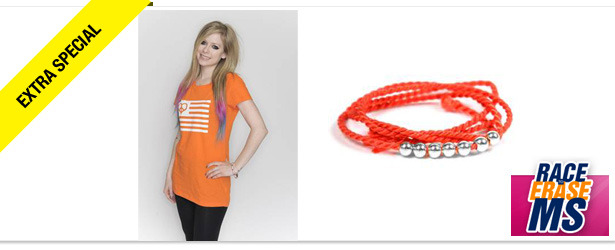 Win It! A Race to Erase MS Bracelet and T-Shirt