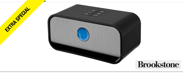 Win It! A Brookstone Big Blue Live Portable Wireless Speaker