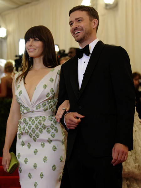 Justin Timberlake and Jessica Biel Celebrate Engagement