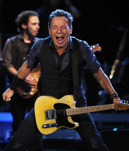 Bruce Springsteen Slams Bankers at Berlin Concert