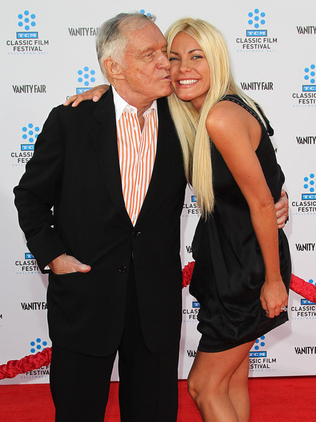 Hugh Hefner and Runaway Bride Crystal Harris Back Together