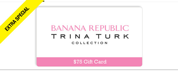 Win It! A $75 Gift Card to Banana Republic