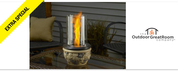 Win It! A Venturi Flame Table Top Firepit