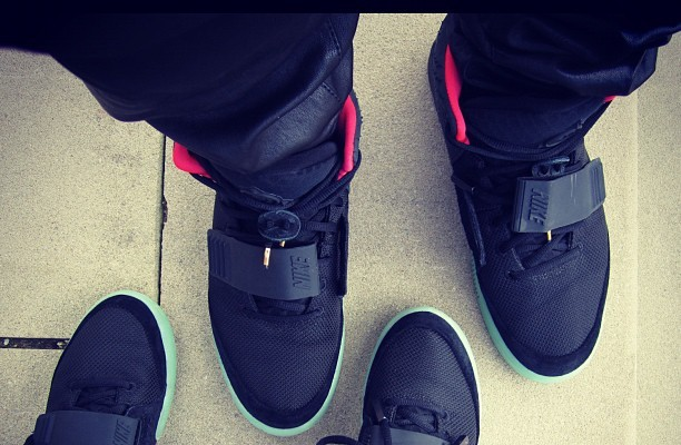 Kanye West Tweets Air Yeezy Pics, Not Kim Kardashian Naked