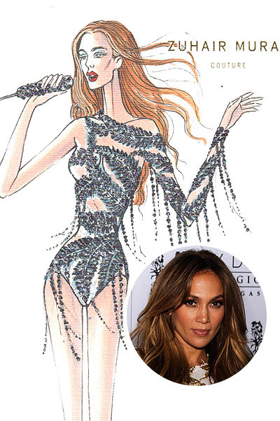 Jennifer Lopez&#039;s World Tour Wardrobe