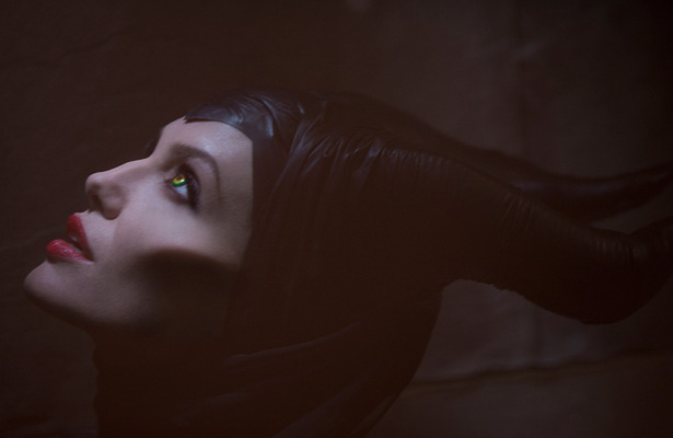 First Pic! Angelina Jolie as Maleficent