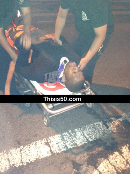 50 Cent Injured in Car Accident with Mack Truck
