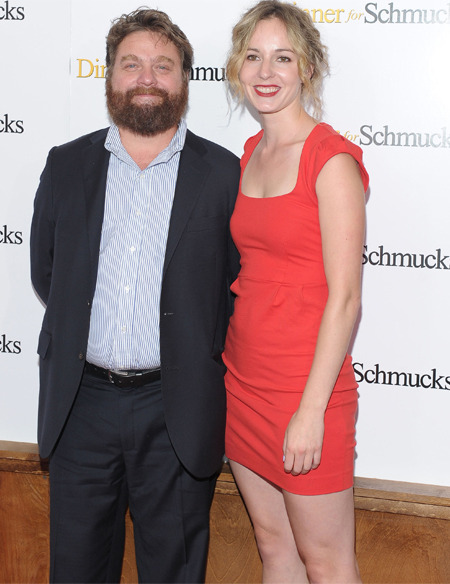 Getting Hitched: Zach Galifianakis and Quinn Lundberg
