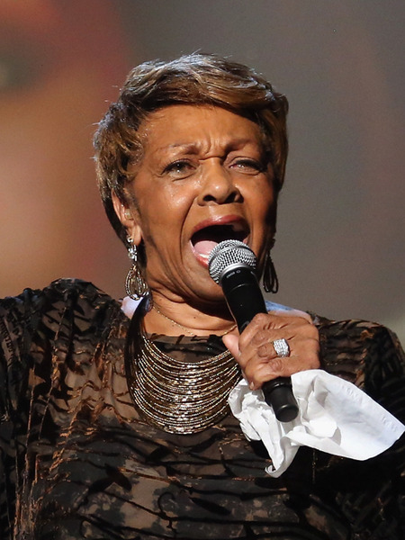 Cissy Houston Pays Emotional Tribute to Whitney at BET Awards