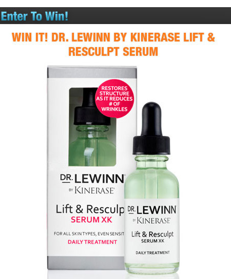 Win It! Dr. LeWinn by Kinerase Lift & Resculpt Serum