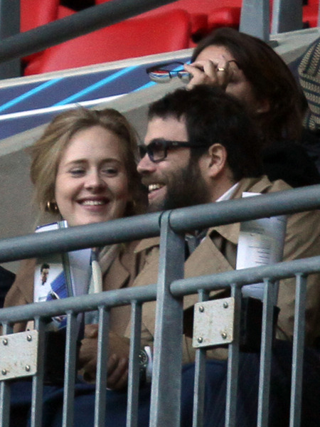 Report: Adele's Secret Pregnancy! She's Due in Two Months?