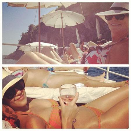Jessica Alba Shows Off Bikini Bod. Instagram