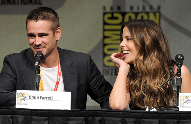 'Extra at Comic-Con': 'Total Recall' Stars Dish at the C