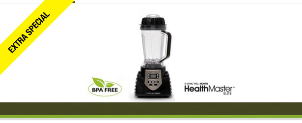 Win It! A HealthMaster Elite Blender