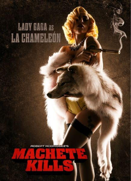 Lady Gaga Makes Acting Debut in &#039;Machete Kills&#039;