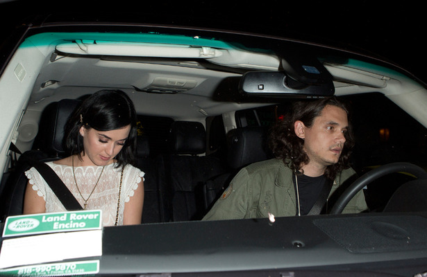 Katy Perry's Late Night Hook Up with John Mayer: Pics!