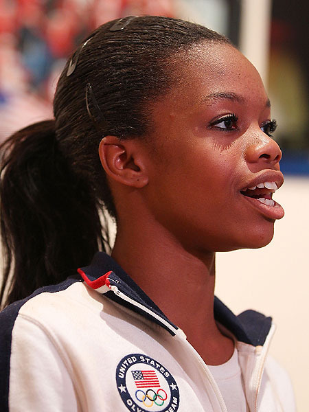 Gabby Douglas' Dad Arrested Before Olympics