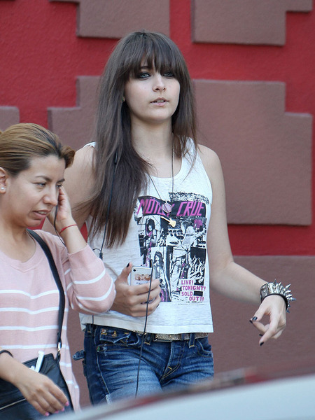 Photos! Paris Jackson Rocks at the Mall with Brother Prince