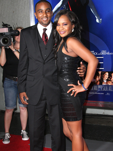 Bobbi Kristina Hits 'Sparkle' Premiere with 'Brother' Nick Gordon