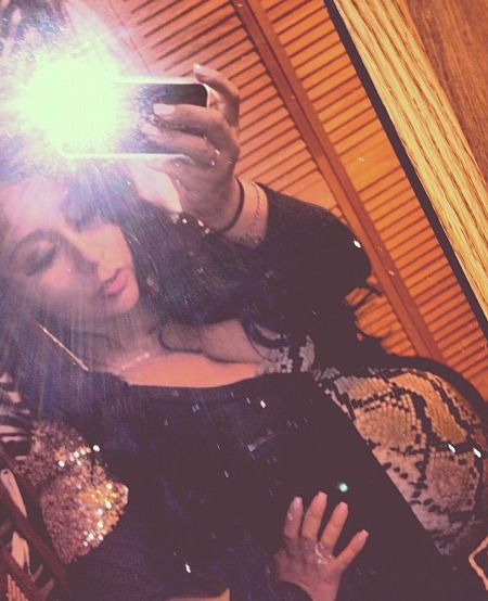 Extra Scoop: Snooki Tweets Pic of the Big Baby Bump
