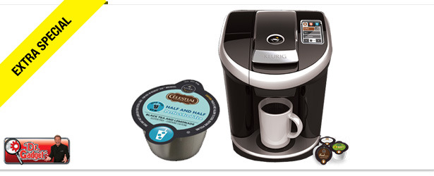 Win It! A Keurig Vue Brewing System and Brew Over Ice Packs