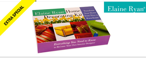 Win It! An Elaine Ryan Home Decorating Kit