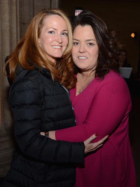 Rosie O&#039;Donnell Wed Girlfriend in Secret Ceremony