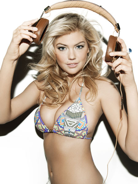 Photos! Kate Upton's New Stripdown for Skullcandy
