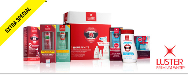 Win It! Luster Premium White Products and Tote Bag