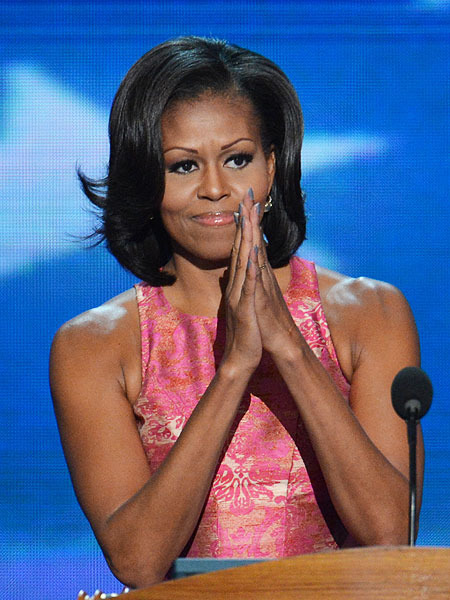 'Mom-in-Chief': Michelle Obama Delivers Powerful DNC Speech