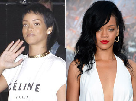 Pic! Rihanna Sports a Short Do