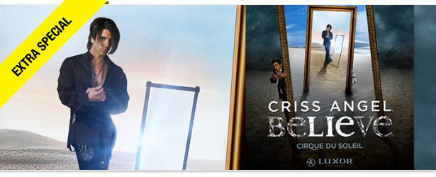 Win It! Go See &#039;Criss Angel Believe&#039; in Las Vegas
