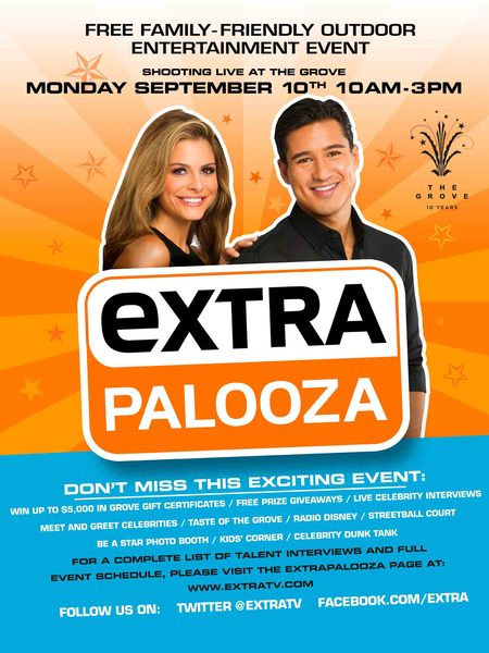 ExtraPalooza at The Grove! The Complete Schedule