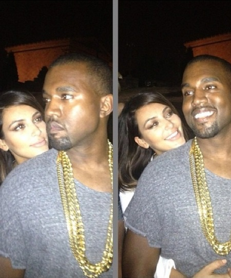 Pics! Kim and Kanye&#039;s Relationship Documented via Instagram 